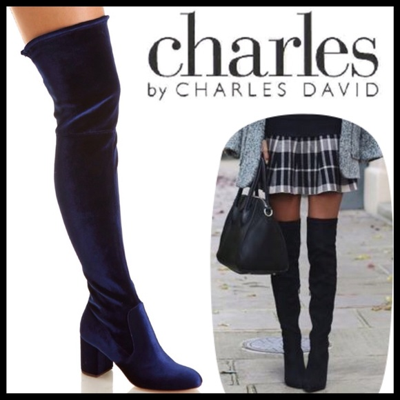 75632fb081953 ❤️SIZE 7.5 Charles David Owen Over the Knee Boots